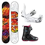 GNU B-Nice BTX Ladies Complete Snowboard Package 2014 by Gnu