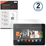 BoxWave Kindle Fire HDX 7 ClearTouch Anti-Glare Screen Protector (2-Pack) - Premium Quality Kindle Fire HDX 7 Anti-Glare, Anti-Fingerprint Matte Film Skin to Shield Against Scratches (Includes Lint Free Cleaning Cloth and Applicator Card)