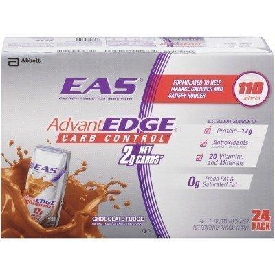 Eas Advantedge Chocolate Fudge Shake - 24 X 11Oz