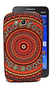 ECellStreet Exclusive Designer Bandhani Printed Soft Back Case Cover Back Cover For Samsung Galaxy Grand I9082 - Design 10
