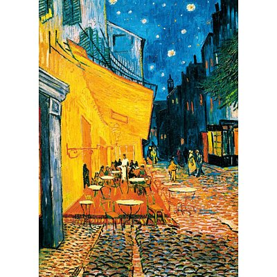 "GIANT Vincent Van Gogh Terrace De Café PAPER Poster Measures 55"" x 39""Inches ( 140 x 100 cm ) approx"