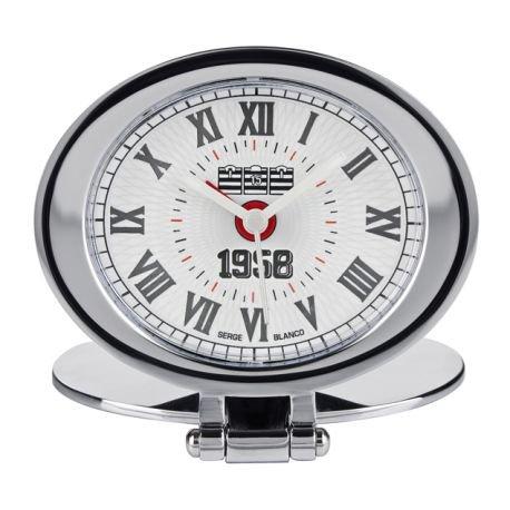 Serge Blanco SB9981-6 - Orologio da polso, acciaio inox, colore: argento