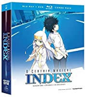 A Certain Magical Index (To Aru Majutsu no Index) - Complete Season 1 (Blu-ray/DvD Combo) by Funimation