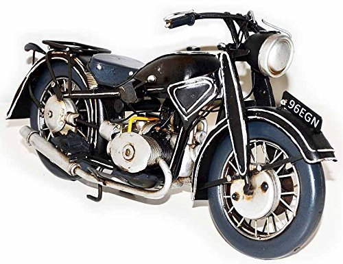 Metal model: BMW Motorcycle 1932 ~Vintage Blechmodell 37292 33 CM