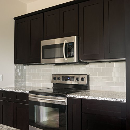 Everyday Cabinets 10 Ft. Run Kitchen Cabinets Bundle in Shaker Espresso with Soft Close Drawers & Doors RTA (Kitchen Cabinets 10x10 compare prices)