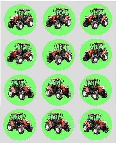 Preisvergleich - 12 Rot Traktor design reispapier fee / becher ...