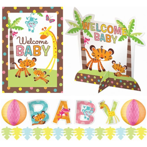 Amscan - Fisher Price Baby Shower Decorating Kit front-11886