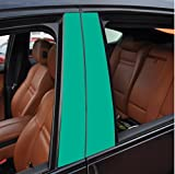 6x Hochglanz t�rkis T�rzierleisten Verkleidung B S�ule T�rs�ule passend f�r Ihr Fahrzeug , geben Sie Ihrem Fahrzeug kosteng�nstig ein sportlichen Touch