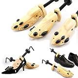 Shoe Stretcher Pair, Women, Size 5-10, 2-Way, Length & Width, Wood, Shoe Stretch