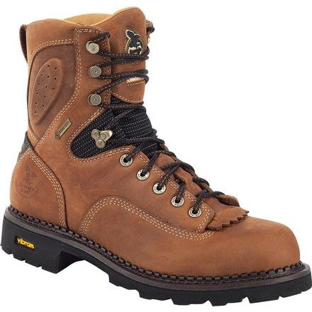 Georgia Boot Men'S G026 Comfort Core 8-Inch Wp Ct Eh Logger Crazy Horse 11.5 W Us