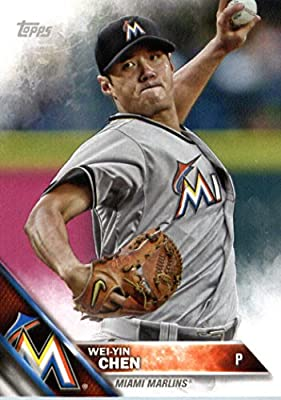2016 Topps Team Edition #MM-17 Wei-Yin Chen Miami Marlins Baseball Card