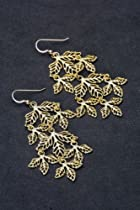 Kipepeo Majani Earrings