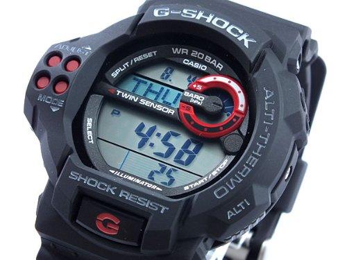 Casio CASIO G shock g-shock twin sensor watch GDF 100-1 A parallel imported goods