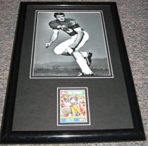 Jack Ham Signed Framed 11x17 Photo Display Penn State PSU Steelers - Framed NFL Photos, Plaques and Collages