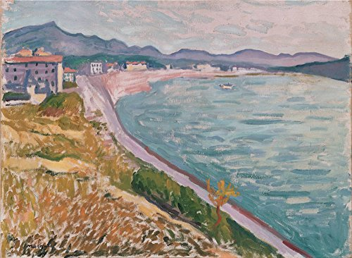 Oil Painting 'Marquet, Albert_1907_View Of Saint-Jean-de-Luz', 8 x 11 inch / 20 x 28 cm , on High Definition HD canvas prints is for Gifts And Bar, Game Room And Hallway Decoration, huge (Canopy Protection Plan Console compare prices)