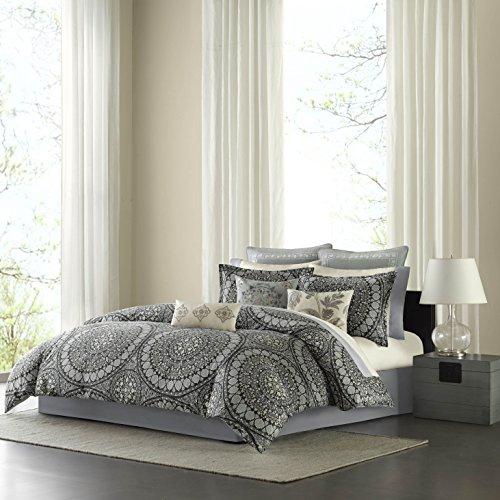 Echo Design Caravan Comforter Set, King, Onyx