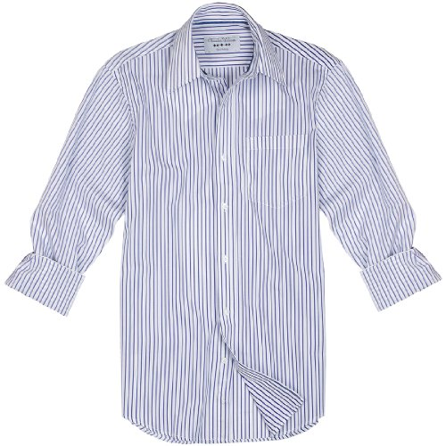 Charles Wilson Ripley Blue Stripe Men'S Casual Shirt : X-Large