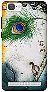 The Racoon Lean Krishna hard plastic printed back case for Vivo X5 Max