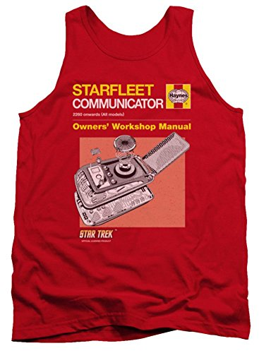Tank Top: Communicator Manual Star Trek The Original Series CBS1627TT