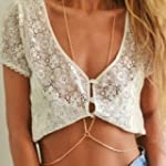 Mae & Mee Women's Gold Belly Chain Se...