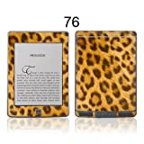 TaylorHe Colourful Decal Vinyl Skin for Amazon Kindle 4 Ultra-slim protection with pretty patterns MADE IN BRITAIN Leopard Print