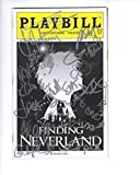 FINDING NEVERLAND AUTOGRAPHED NYC PLAYBILL+COA 2016 CAST