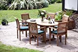"""Paris"" 13 Piece Grade A 6 Foot Teak Set New 2014 Model"