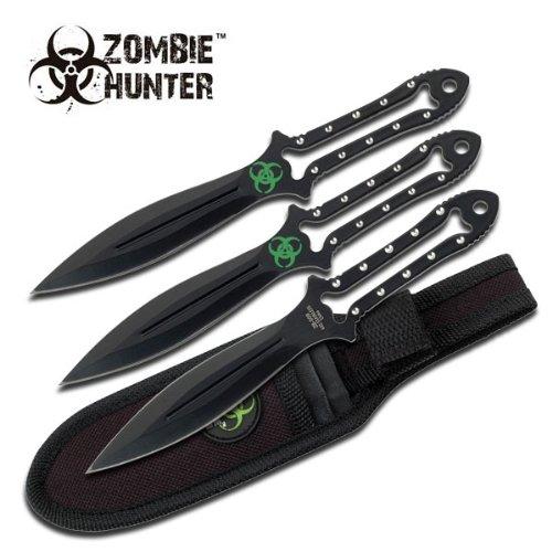 Z Hunter Zb-009 Throwing Knife (3-Piece), 7-Inch