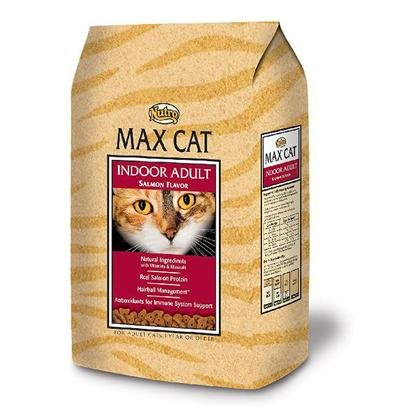 Image of Max Indoor Adult Salmon Flavor Cat Food, 3-Pound