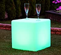 PK Green Mood Cube Table Lamp (50cm, Rechargeable) by PK Green