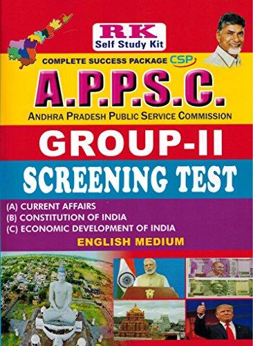 APPSC Group-II Screening Test [ ENGLISH MEDIUM ]