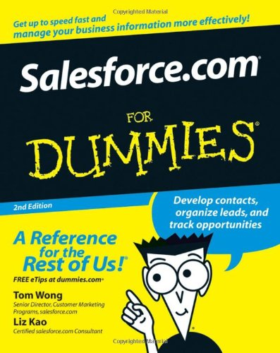 Salesforce.com For Dummies (For Dummies (Lifestyles