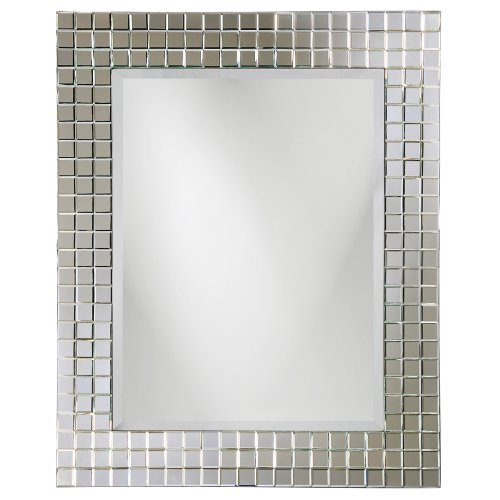 Mirrored Makeup Table front-55655