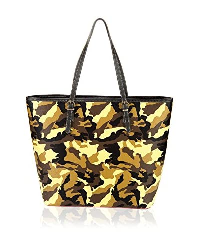 Housebags Borsa A Spalla [Nero/Giallo]