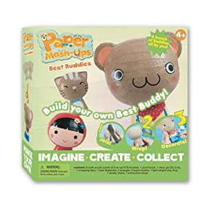 Buy paper mash up buddies craft kit online at low prices for Paper mashing craft