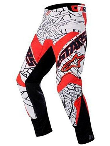 Pantaloni-MX-Bambino-Alpinestars-Charger-Nero-Rosso