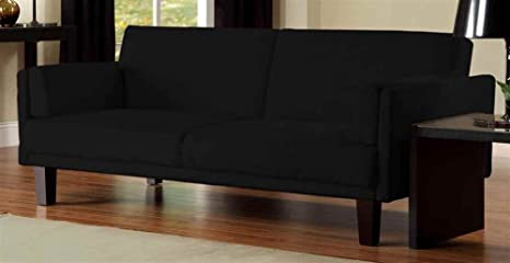 DHP Metro Futon Sofa bed in Black