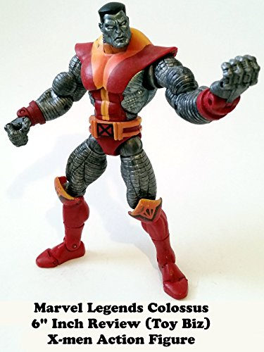 "Marvel Legends COLOSSUS X-men 6"" inch Review (Toy Biz) action figure"