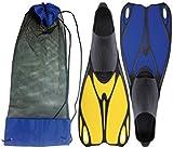 Pinne swim fins c/sacca 38-39 - Juegos de exterior Juegos con ruedas BONVENTI AQUASPLASH