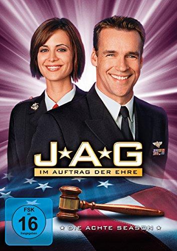 JAG - Im Auftrag der Ehre/Season 8 [5 DVDs]
