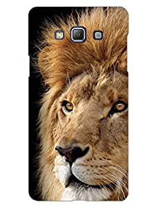Feel The Roar - Lion - For Animal Lovers - Hard Back Case Cover for Samsung A5 - Superior Matte Finish - HD Printed Cases and Covers