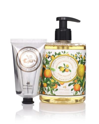 Panier des Sens Soothing Oils from Provence Liquid Soap & Hand Cream, Set of 2 As You See