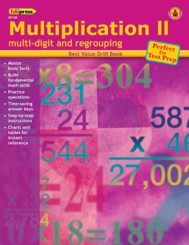 Edupress Ep-138 Multiplication 2 Multi-digit & - 1