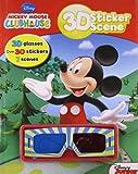 3d Sticker Scene - Mickey Mouse Club House (Disney)