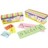 1000pk Blank Flash Cards: Assorted Colours, Small (50x76mm)