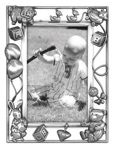 Nursery Parade Picture Frame, Silver
