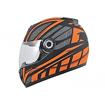 Casque boost b530 ultra mat noir/orange l - Boost BS04505