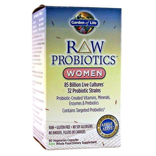 Garden Of Life Raw Probiotics Women 90 Capsules