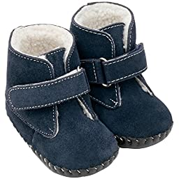pediped Originals Henry Boot (Infant),Navy,Small (6-12 Months)