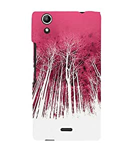 Colorful Forest 3D Hard Polycarbonate Designer Back Case Cover for Micromax CanvasSelfie2Q340